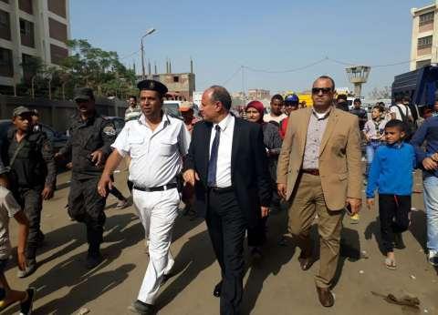 """محافظ الإسكندرية: الخسائر الأولية لحريق """"البتروكيماويات"""" 3 عقارات"""
