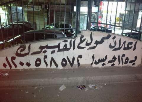 إعلان فى الشارع عن «إعلانات الفيس بوك».. حد فاهم حاجة