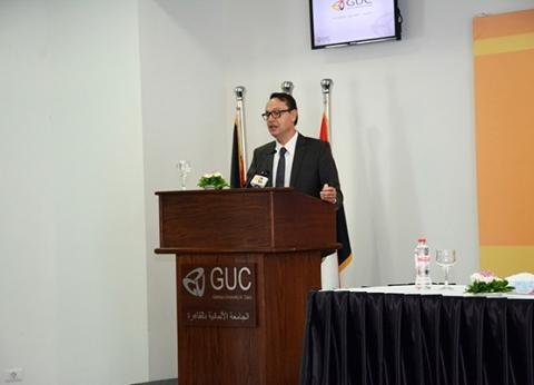 بالصور  الجامعة الألمانية تنظم دورة تدريبية عن الجرائم الإلكترونية