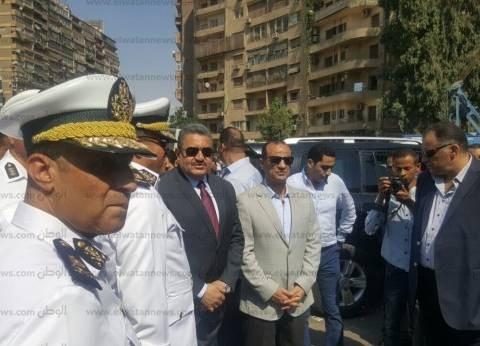 مدير أمن الجيزة لـ«قوات الأمن»: تصدوا للجريمة وامنعوا العنف