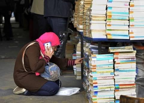 10 آلاف كتاب بالمعرض التاسع في جامعة سوهاج