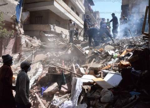 انهيار منزل من 5 طوابق بسوهاج.. والمحافظ يحيل الواقعة للتحقيق