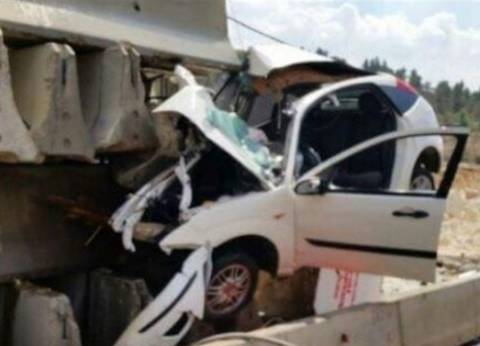 إصابة أمين شرطة ومجند في حادث تصادم برفح