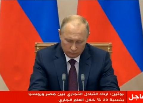بوتين: ضبطت عقارب الساعة مع صديقي السيسي للاهتمام بما يحدث في سوريا
