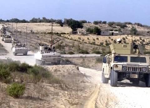 قصف بؤر الإرهاب فى مزارع الزيتون بسيناء تمهيداً لـ«الاقتحام البرى»