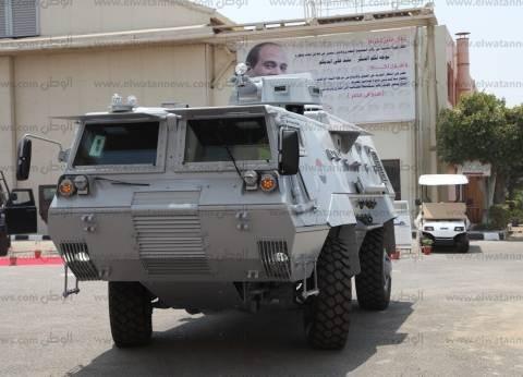 الشرطة تطوق حي السمران في وسط العريش وتضبط 9 مشتبه بهم