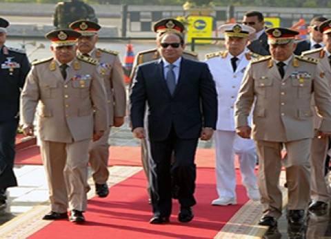 السيسي يرأس اجتماع المجلس الأعلى للقوات المسلحة