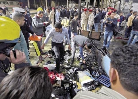 النيابة تواصل سماع أقوال سائق قطار محطة مصر وزميله