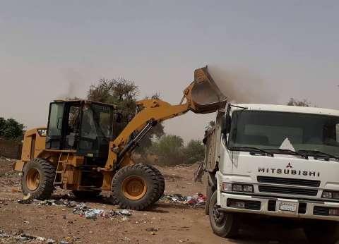 رفع 40 طن قمامة في حملة نظافة بالقناطر الخيرية