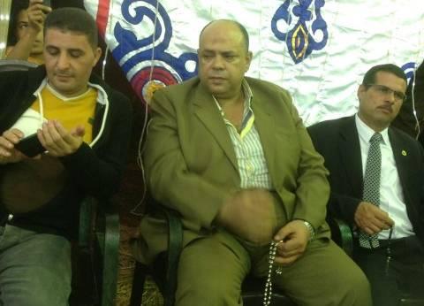 بالصور| سكرتير عام المحافظة ومدير أمن الغربية في عزاء والدة رئيس رابطة صحفيي كفر الشيخ