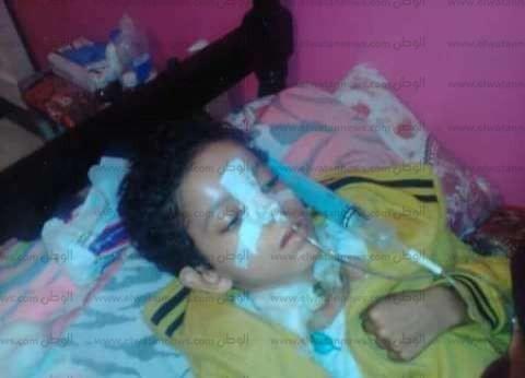 """وفاة الطفل """"زياد"""" ضحية الإهمال بعد 8 أشهر من سقوطه في بالوعة بالبحيرة"""
