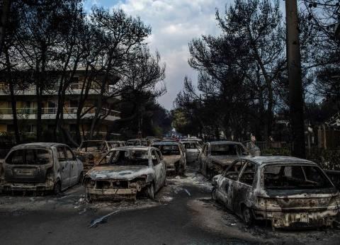 """موجة استقالات في اليونان بعد """"الحرائق القاتلة"""""""