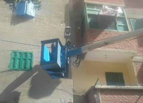 فصل التيار الكهربائي عن منطقة المعنا بمدينة قنا