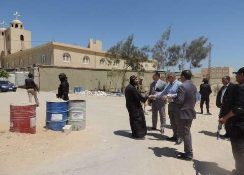 بالصور| مدير أمن الفيوم يشدد على اليقظة لأفراد التمركزات الأمنية