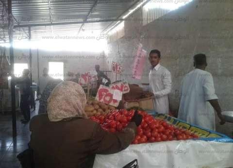 ضبط 21 قضية تموينية بأسواق مدينة أسوان