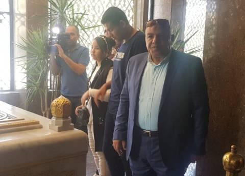 رئيس حي الأميرية من ضريح عبدالناصر: علينا استلهام قيم 23 يوليو