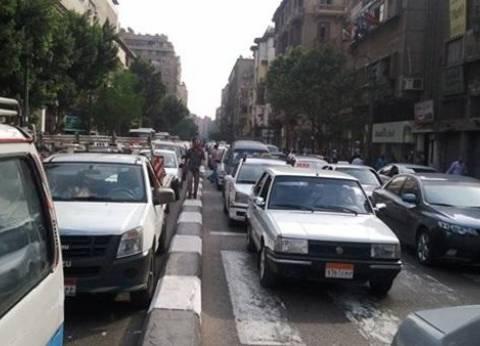 جامعة القاهرة وشارعا التحرير وقصر العينى: عفواً.. الزحمة مستمرة