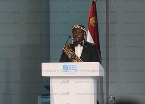 """ملك قبيلة """"ماسيكو"""" في حواره لـ""""الوطن"""": الرئيس السيسي يمتلك روح شبابية"""
