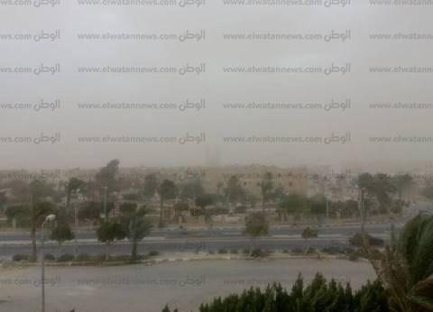 """""""مرور جنوب سيناء"""": تكثيف الدوريات بالطريق الدولي تزامنا مع سوء الطقس"""