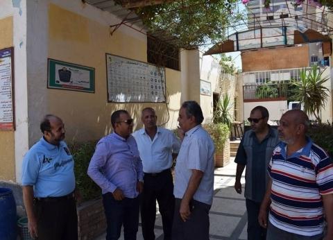 """جولات لرؤساء """"بني مزار ومغاغة وأبوقرقاص"""" لمتابعة صيانة مدارس المنيا"""