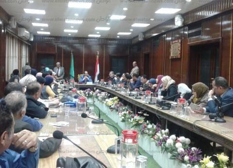 محافظ الدقهلية يعقد اجتماعه الأول مع الصحفيين والإعلاميين