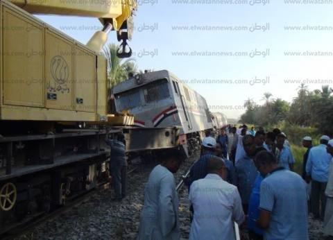 """النيابة تشكل لجنة من """"هندسية القوات المسلحة"""" لكشف سبب حادث قطار أسوان"""