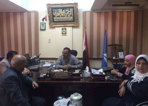 وكيل وزاة التضامن الاجتماعى بدمياط يلتقي بأعضاء مجلس إدارة جمعية التأهيل