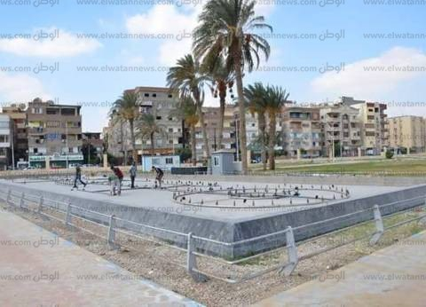 محافظ الإسماعيلية: حديقة النافورة الراقصة هدية للأهالي بمناسبة أكتوبر
