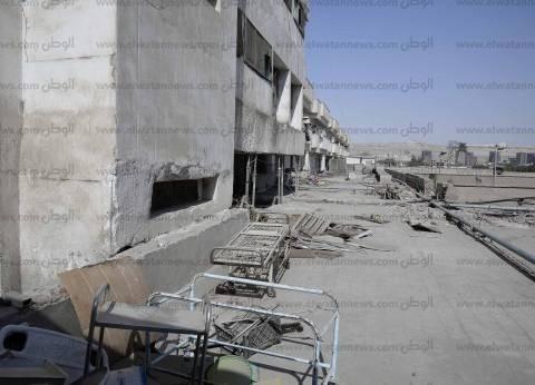 بعد إخلاء «المستشفى الجامعى».. مرضى «المنيا» بلا مأوى