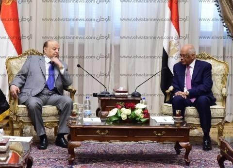 الرئيس اليمني: نقدر دعم مصر ومساندتها لنا في المجالات كافة