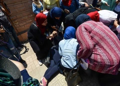 إغماء طالبة قبل دخول لجنتها وإدارة المدرسة تتحرك بها إلى مستشفى إمبابة