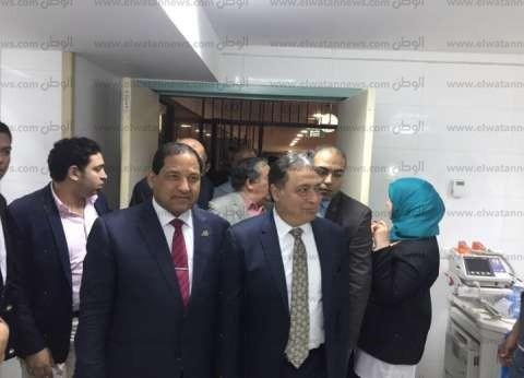 وزير الصحة يقرر نقل ضحايا ومصابي حادث قطاري البحيرة إلى مستشفى دمنهور