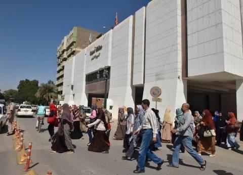 تجربة لإخلاء مبنى ديوان عام محافظة أسيوط استعدادا للطوارئ
