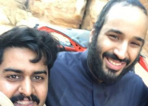 """بالفيديو والصور  سعوديون يلتقطون """"سيلفي"""" مع محمد بن سلمان"""