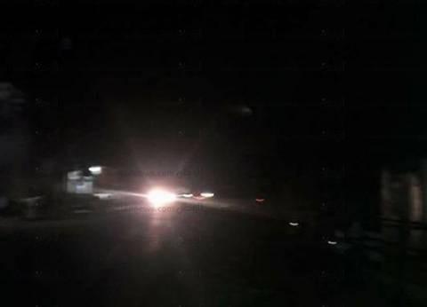 انقطاع التيار الكهربائي بشكل تام عن مدينتي الشيخ زويد ورفح