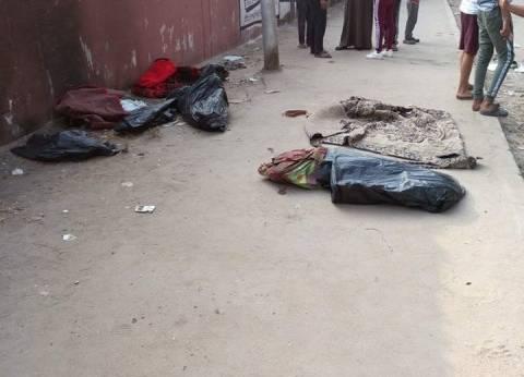 مصدر أمني: تفريغ كاميرات المراقبة بموقع العثور على جثث أطفال المريوطية