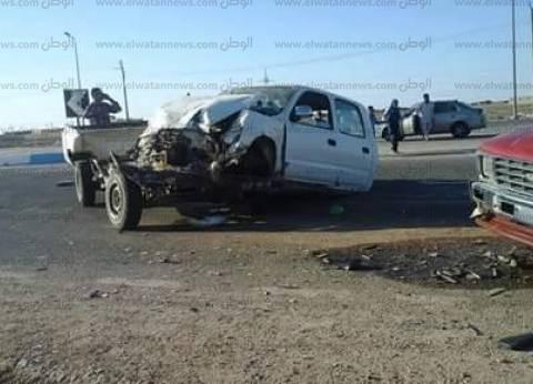 """إصابة 10 أشخاص في حادث تصادم سيارتين على """"الدولي الساحلي"""" بكفر الشيخ"""