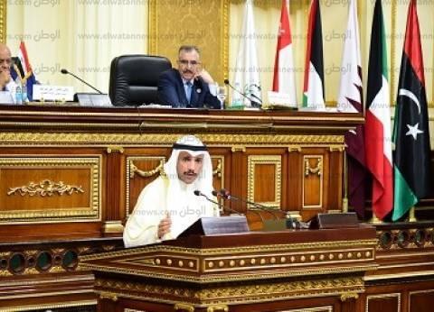 «السيسى» لـ«البرلمان العربى»: الإرهاب يهدد الأمتين العربية والإسلامية.. والتسوية السلمية هى الحل فى سوريا وليبيا