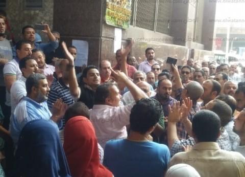 """انتهاء أزمة """"مختار إبراهيم"""" بفض الاعتصام.. """"حجازي"""": صرف المرتبات الأحد"""