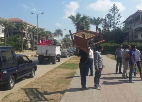 تحرير 29 محضرا في حملة إزالة إشغالات بمطروح