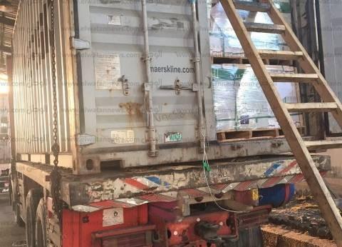 ضبط 3 حاويات على متنها بضائع أجنبية مهربة بشهادة مزورة