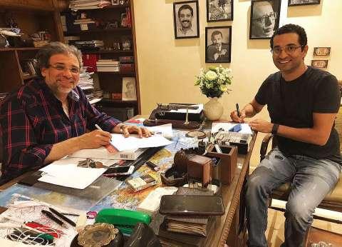 """عمرو سعد يتعاقد على فيلم """"كارما"""""""