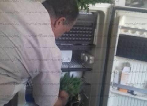 خصم 3 أيام لموظفي الوحدة الصحية وضعوا خضروات في ثلاجة الأمصال بأسيوط