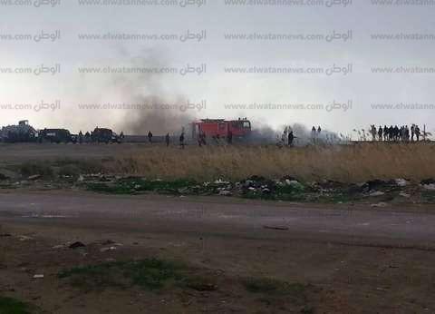 عاجل| عناصر الإخوان الإرهابية يشعلون النيران على شريط السكة الحديد بكفرالدوار