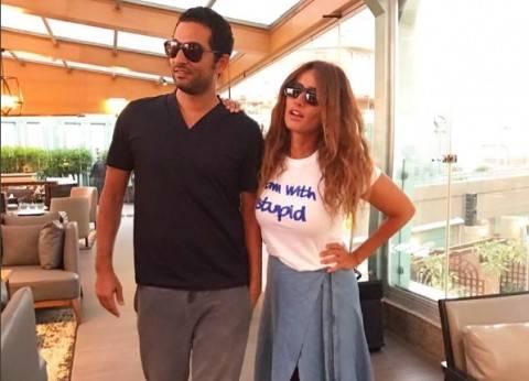 عمرو سعد يواصل تصوير «كارما» مع زينة
