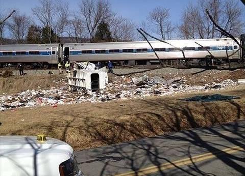 """إصابة أكثر من 50 شخصا في حادث تصادم قطارين بـ""""ساوث كارولينا"""""""