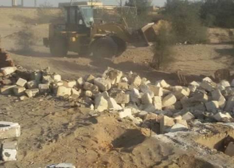 استرداد 320 فدانا منهوبا بمركز الخانكة في القليوبية
