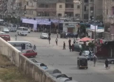 لجان المنتزه بالإسكندرية تخصص أبوابا لدخول الناخبين للاستفتاء