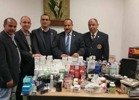 """""""جمارك مطار القاهرة"""" تضبط محاولة تهريب كمية من أقراص الترامادول"""