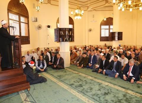 وزير الأوقاف وقيادات المنوفية يفتتحون مسجد الشهيد عفيفي بشبرا خلفون